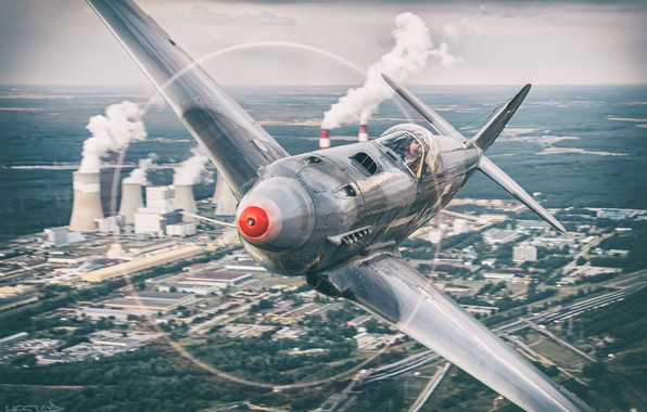 Picture Screw, The Second World War, The Yak-3, As-3M, THE RED ARMY AIR FORCE, HESJA Air-Art …