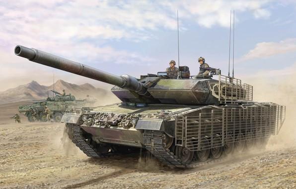 Picture Canada, tank, main battle tank, Vincent Wai, MBT, MBT, Leopard 2A6M CAN