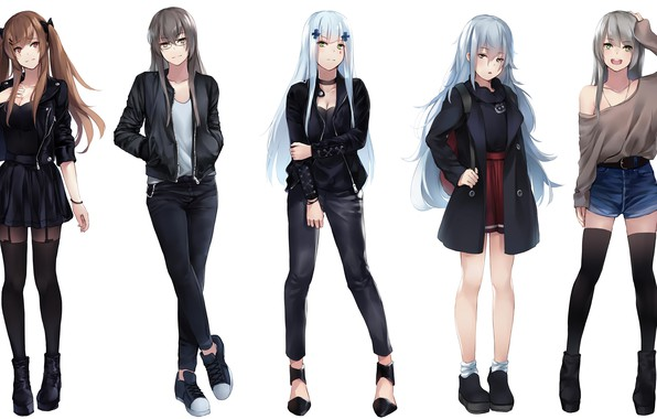 Picture style, group, Girls Frontline, Girls front