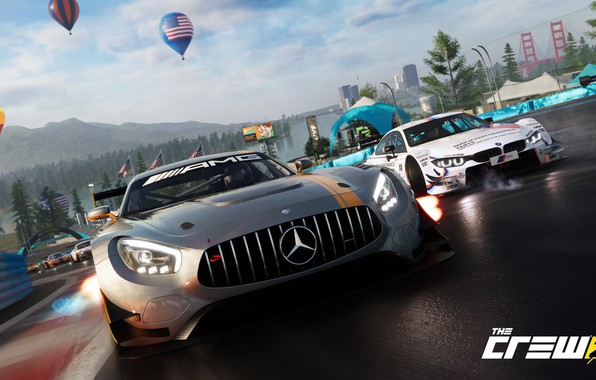 Picture Mercedes-Benz, game, AMG, Ubisoft, The Crew 2