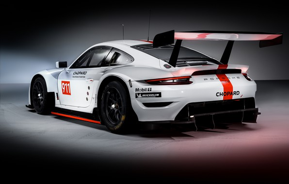 Picture 911, Porsche, racing car, RSR, 2019