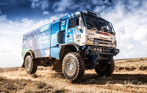 Picture Wheel, Sport, Machine, Speed, Truck, Race, Master, Russia, 2018, Kamaz, Rally, KAMAZ-master, Rally, KAMAZ, The …