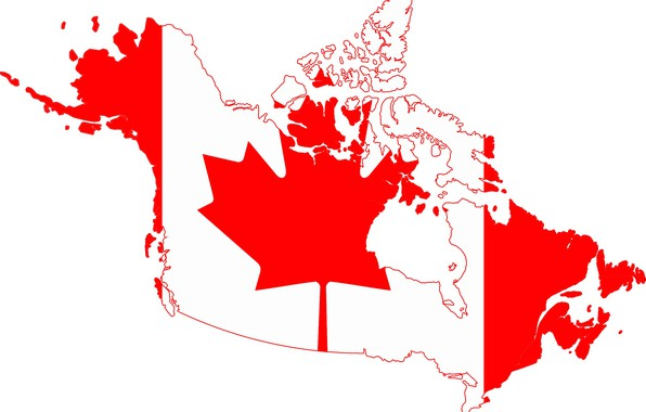 Picture white, red, flag, red, white, Canada, custom, canada, fon, flag, border