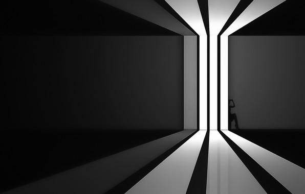 Picture light, room, shadow, window, light, window, room, shadow, Ahmad Kaddourah