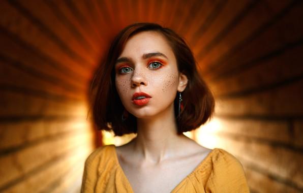 Picture girl, makeup, Valeria Ranevskaya, Mikhail Shvetsov