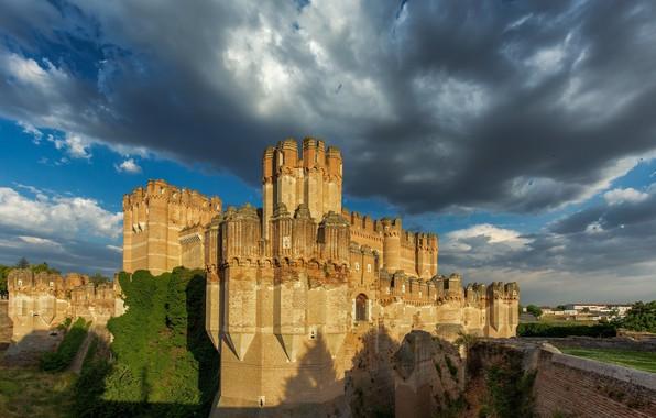 Picture castle, history, Castle of Coca