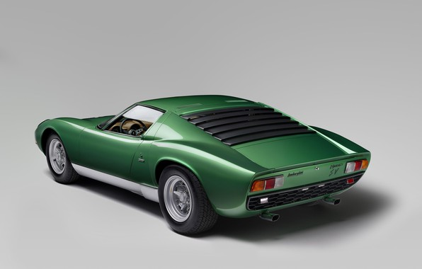 Picture Lamborghini, Miura, Lamborghini Miura P400 SV, One thousand nine hundred seventy one