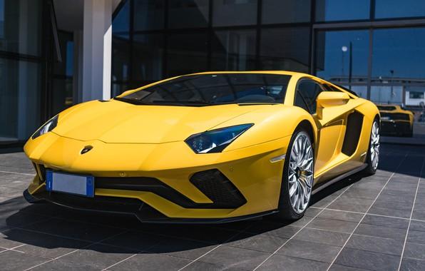 Picture Lamborghini, Aventador, S, Coupe