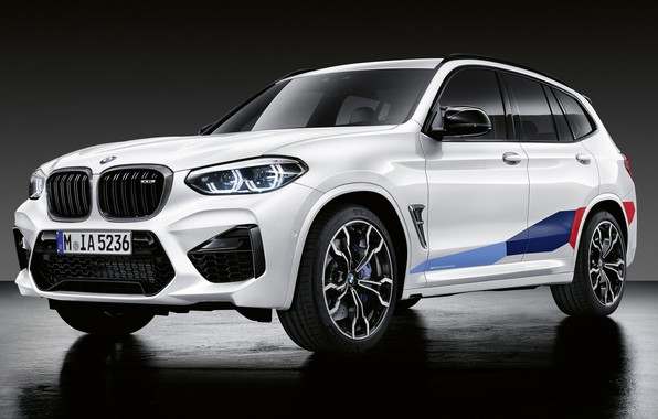 Picture BMW, crossover, BMW X3, 2019, X3M, M Performance Parts