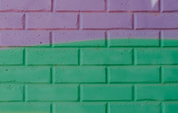 Picture wall, paint, brick wall