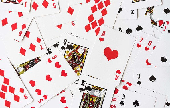Picture card, poker, deck