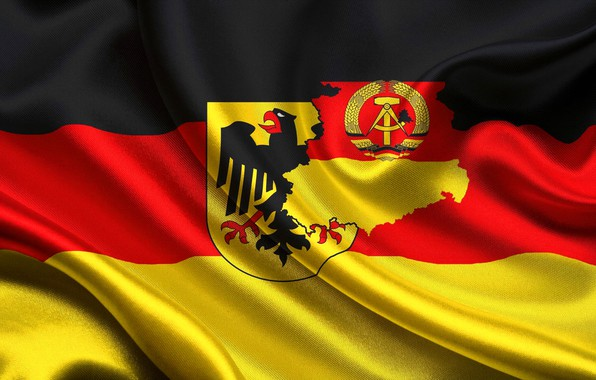 Picture flag, coat of arms, Germany, flag, Germany, german, coat of arms, Germany, GDR