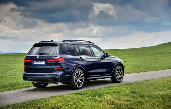 Picture grass, BMW, crossover, SUV, 2020, BMW X7, M50i, X7, G07