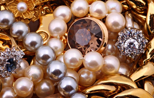 Picture decoration, beads, jewelry