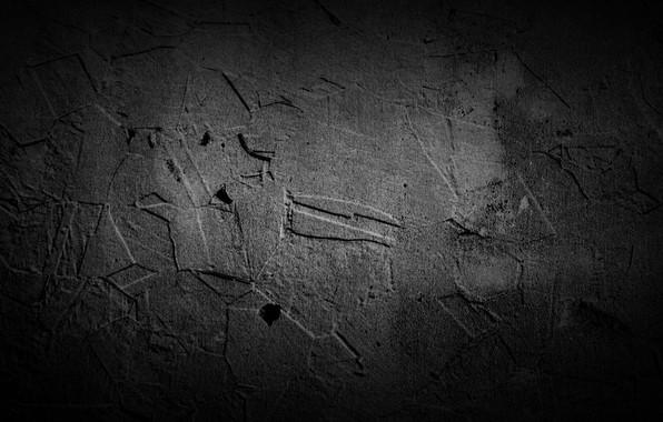 Picture Black, Grunge, Stones, Textures