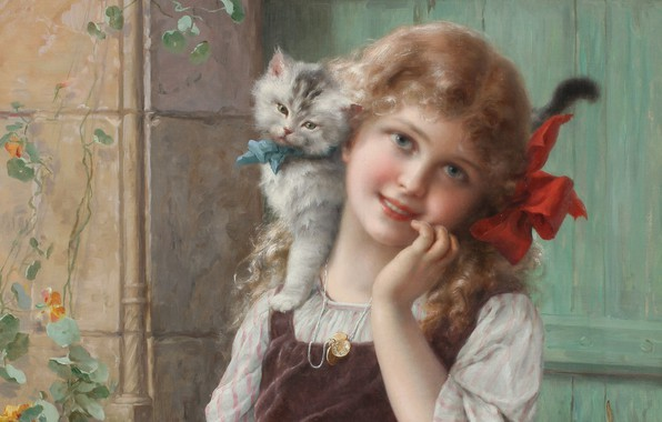 Picture French painter, 1913, French painter, oil on canvas, Paul Emile Vernon, Paul Emile Vernon, Emile …