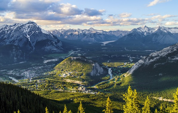 Picture Landscape, Mountains, Forest, Outdoor, Natural, Rocky Mountains