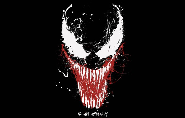 Picture background, paint, Eyes, black, Sony, poster, Eyes, 2018, venom, paint, Comics, MARVEL, Venom, Marvel, Comics, …