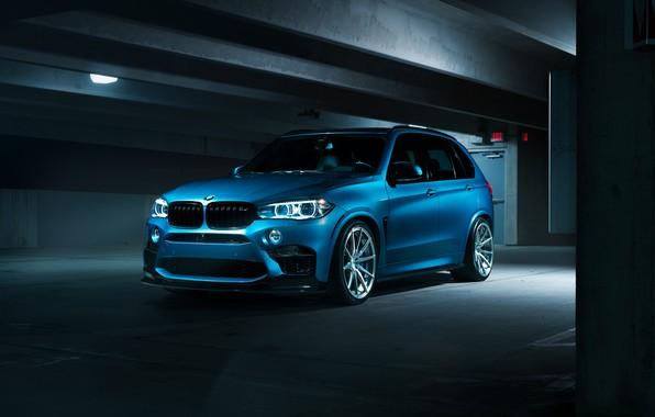 Picture BMW, Dark, Blue, X5M
