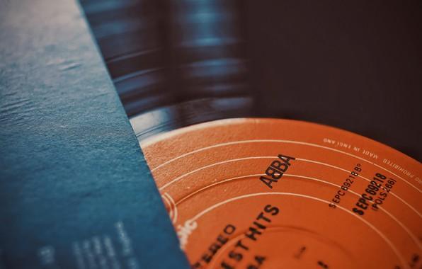 Picture music, vinyl, record
