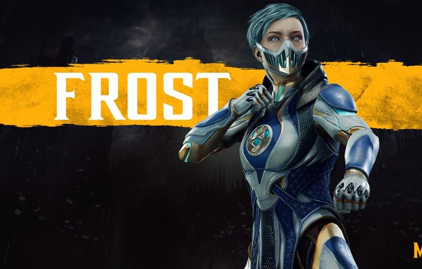 Picture girl, girl, fighter, cyborg, Frost, cyborg, NetherRealm Studios, Mortal Kombat 11, Frost, Cremant, Mortal Kombat …