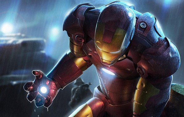 Picture Iron man, The film, IronMan
