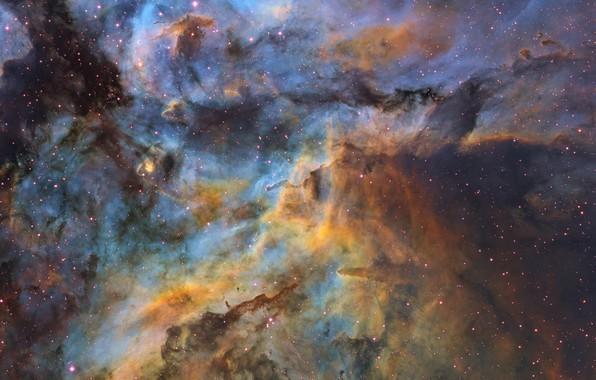 Picture stars, stars, the constellation of Carina, dust clouds, dust obloka, Ignacio Diaz Bobillo