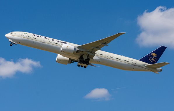 Picture Boeing, 777-300ER, Saudi Arabian Airlines
