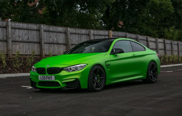 Picture BMW, Green, matte, wrap, Wasabi