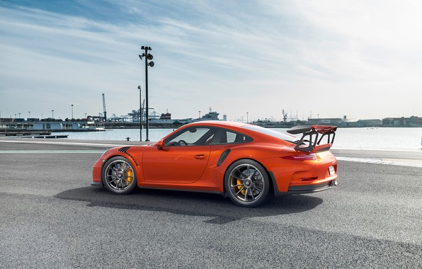 Picture Auto, 911, Porsche, Machine, Orange, Car, Car, Render, Sports car, Transport & Vehicles, Togrul Hasanov, …