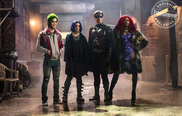 Picture look, the series, actors, costumes, Movies, The titans, Titans