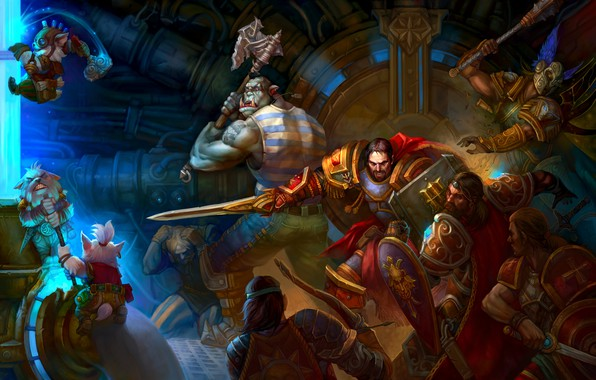 Picture the game, battle, fantasy, art, online, DragonFly Studio, Allods Online wallpapers