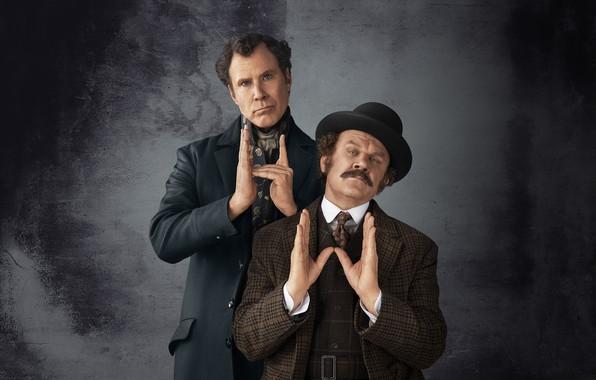Picture Hugh Laurie, year, 2018, Ralph Fiennes, John, Holmes, Watson, Sherlock, John Watson, Moriarty, Movie, Film, …