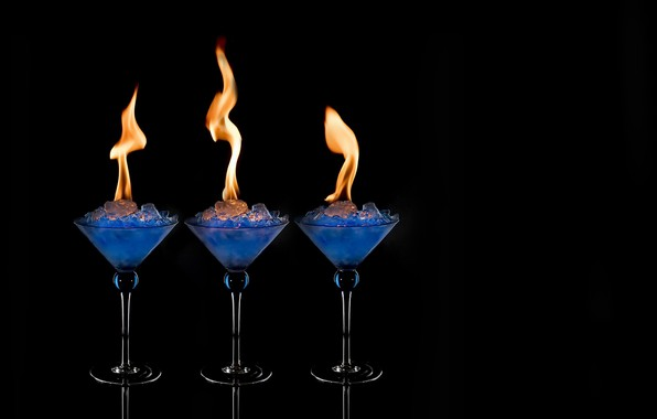 Picture background, fire, drink