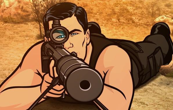 Picture Rifle, Sniper, Archer, Secret agent, Aim