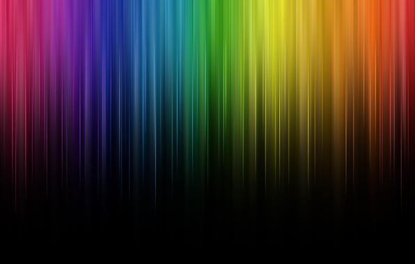 Picture line, color, rainbow, rainbow, lines, color