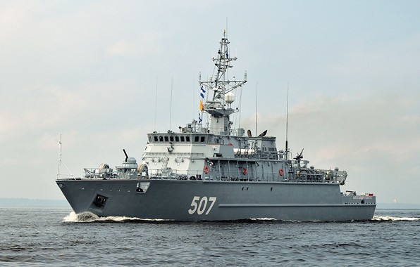 Picture Navy, basic, minesweeper, project 12700, Alexander Obukhov