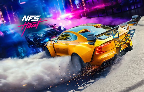 Picture Electronic Arts, Ghost Games, NFS Heat, Need for Speed Heat