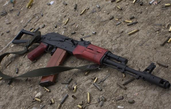 Picture weapons, machine, gun, weapon, Kalashnikov, ak-74, AK-74, assault Rifle, Kalashnikov