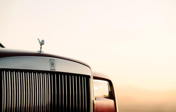 Picture headlight, Rolls-Royce, 2018, Cullinan