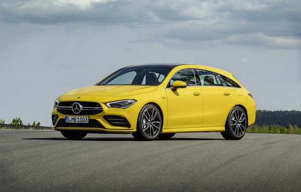 Picture Mercedes, AMG, Shooting Brake, CLA, 4Matic