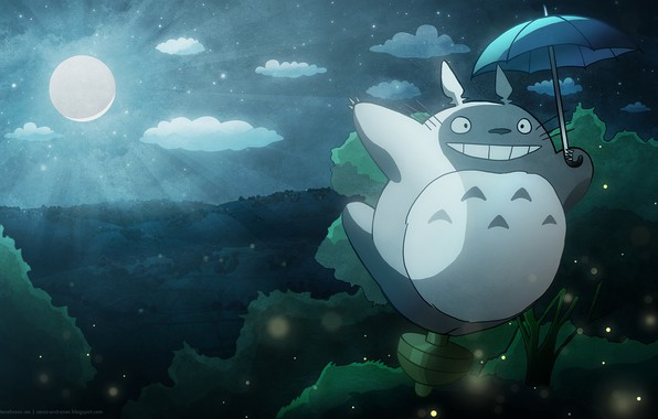 Picture wallpaper, totoro, background