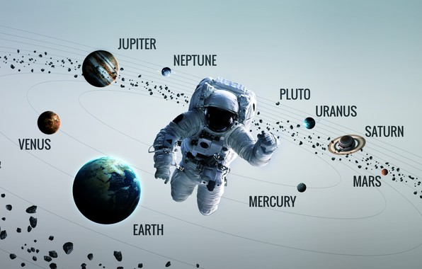 Picture Saturn, Space, Earth, Planet, Astronaut, Astronaut, Mars, Jupiter, Neptune, Mercury, Venus, Planets, Saturn, Earth, Asteroids, ...