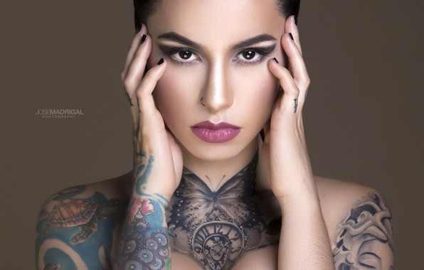 Picture model, look, tattoos, Jose Madrigal