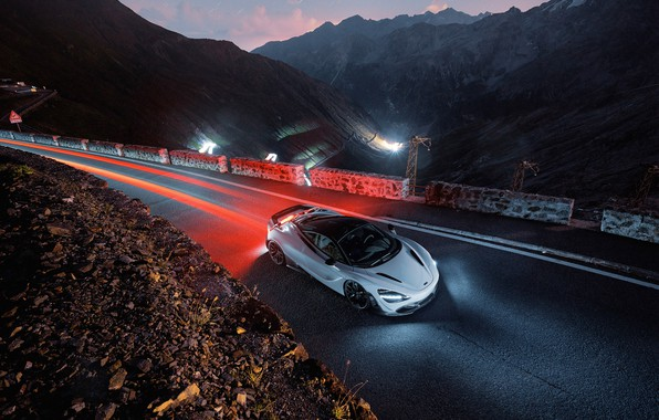 Picture McLaren, supercar, the view from the top, 2018, Novitec, 720S