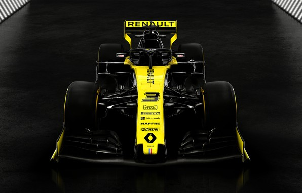 Picture Renault, the car, Motorsport, 2019