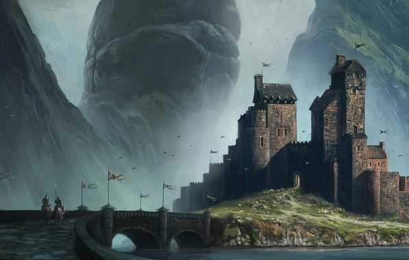 Picture castle, Andreas Rocha, Homecoming, Myths & Monsters