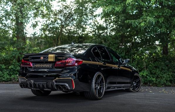 Picture BMW, sedan, rear view, 2018, Biturbo, Manhart, M5, V8, F90, 4.4 L., 723 HP, MH5 …