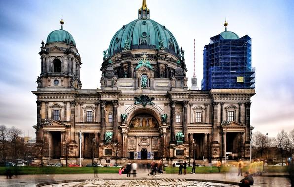 Picture city, sky, berlin, church, fujifilm, photograhpy