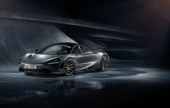 Picture McLaren, Auto, Machine, Grey, Transport & Vehicles, McLaren 720s, by Damian Bilinski, Damian Bilinski